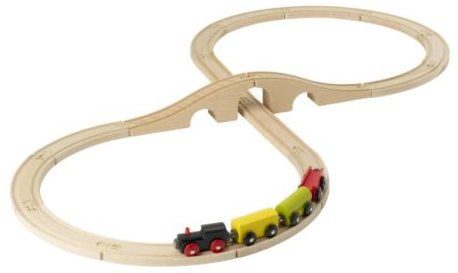 IKEA Lillabo wooden train-set